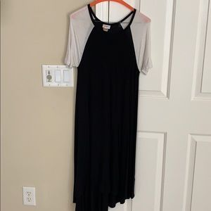 Black and white Carly dress